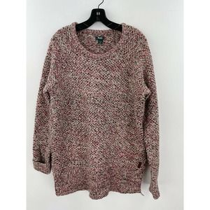 Roots Canada XL Sweater Cable Knit A38-02